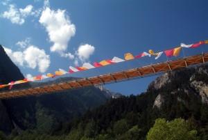 Bhutan Bridge and Illgraben