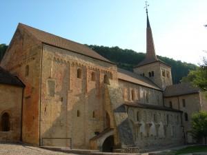 Abteikirche von Romainmôtier - © Parc Jura vaudois