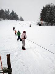 Skifahren im Jurapark Aargau