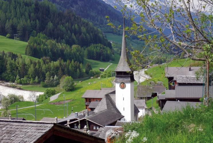 Eröffnung Dorfrundgang Niederwald