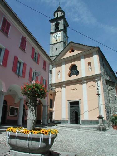 Kirchturm von Intragna