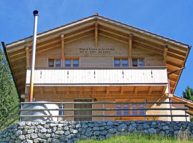 Alphütte Weidhüttli Rütiweid