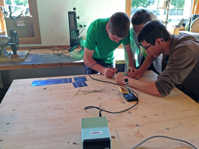 Projekttag Solardestation