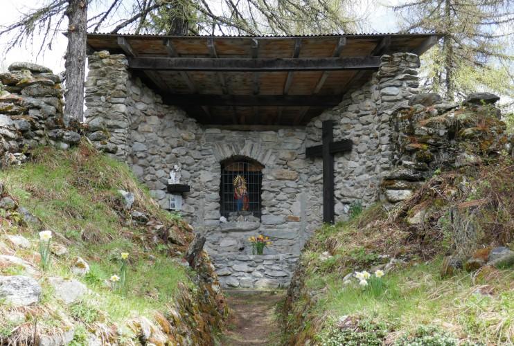 Kapellenruine Chastebiel
