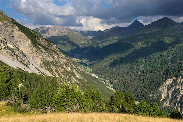 Via panoramica nella Val Tuors