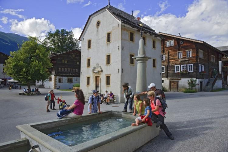 Ernen village tour