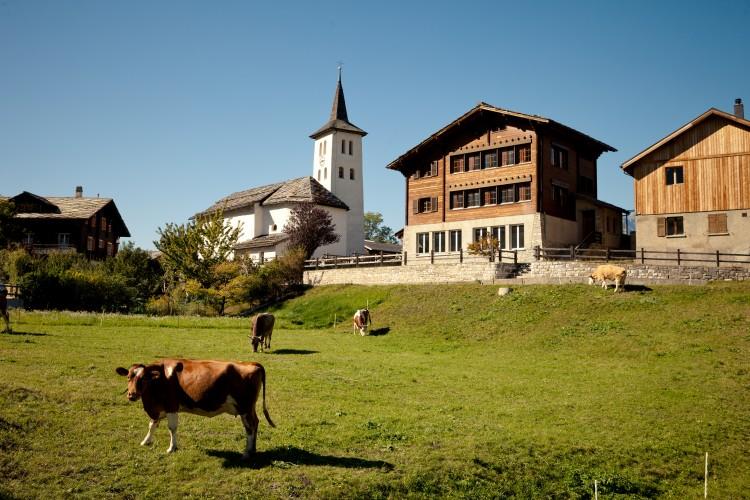 Unterems - Passerelle - Loèche