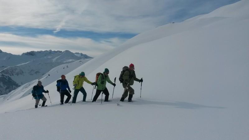 Silvester-Skitour Avers