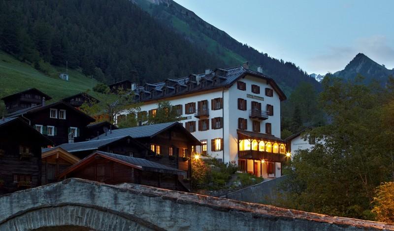 Historisches Hotel Ofenhorn - © Roland Krieg Fotodesign