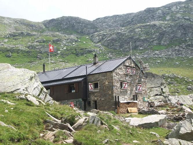 SAC Binntal hut - © Landschaftspark Binntal
