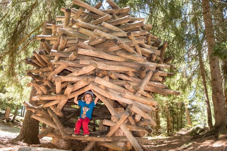 VaKi Hüttenbau im Zauberwald