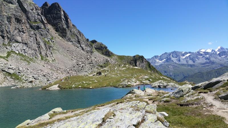 Wanderung von Maloja über den Pass Lunghin nach Bivio