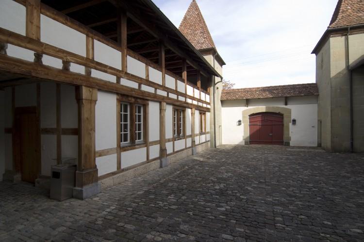 Visite château Schwarzenburg