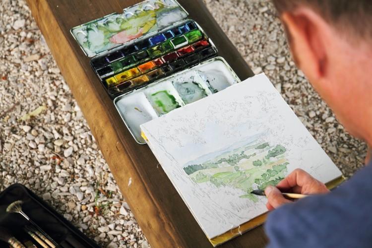 Kurs Zeichnen & Aquarellieren
