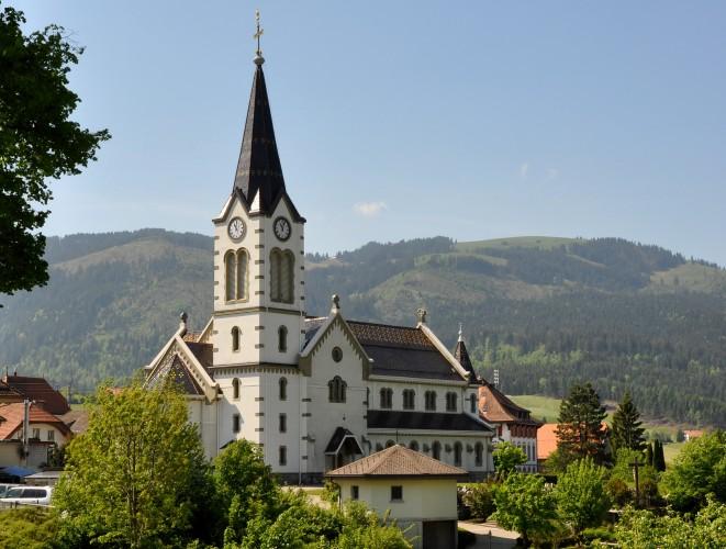 Église paroissiale de Planfay.
