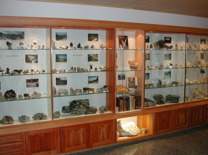 Mineral museum in Fäld