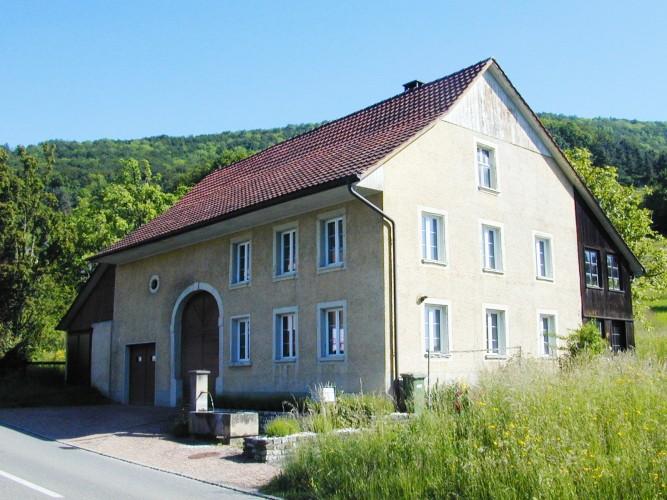 Historische Häuser in Küttigen