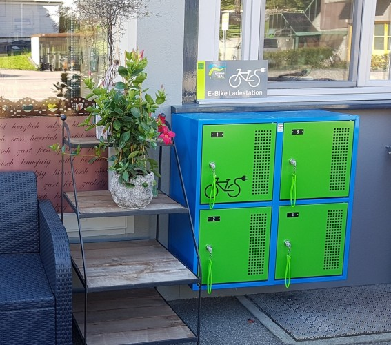 E-Bike Ladestation Welschenrohr