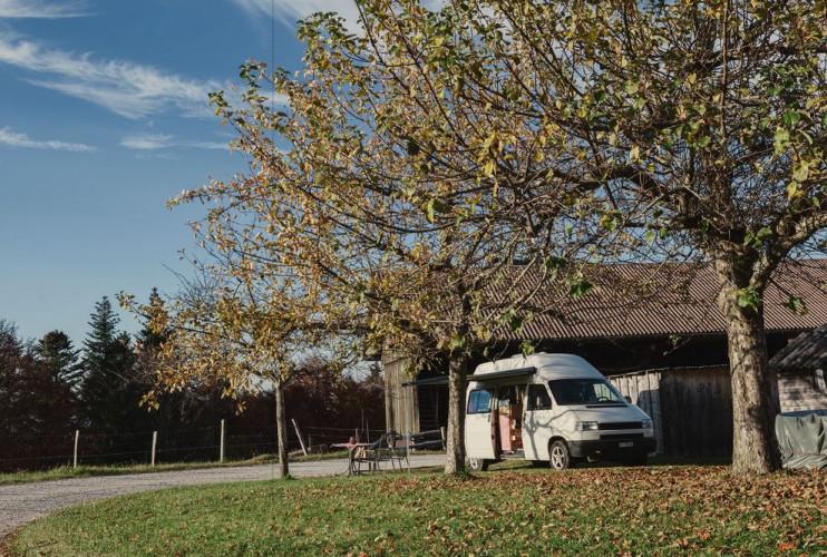 Campingplatz Nomady Schlössli West - © V. Ruchti