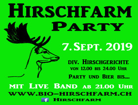 Hirschfarm Party - © www.bio-hirschfarm.ch