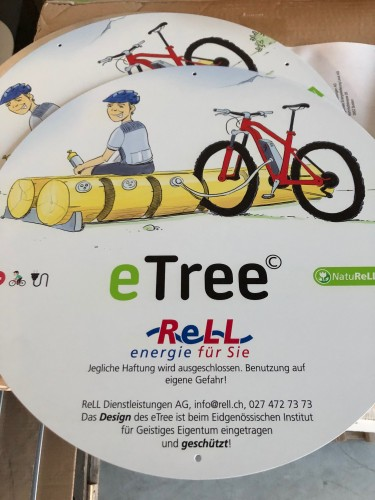 eTree Eingang Leukerbad Therme
