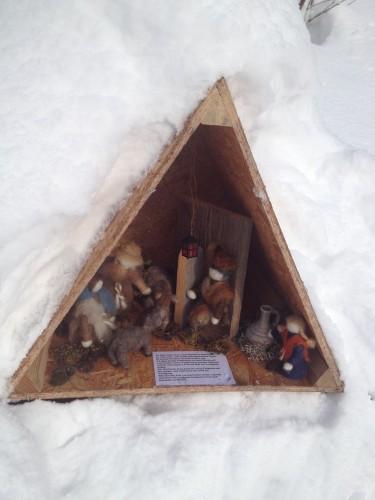 Weihnachtsweg Montpelon