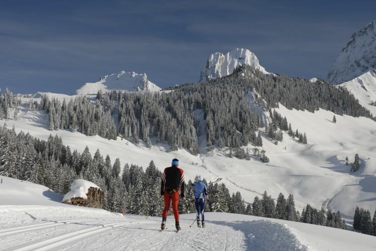 Langlauf-Schnupper Weekend im Gantrisch Langlauf Paradies