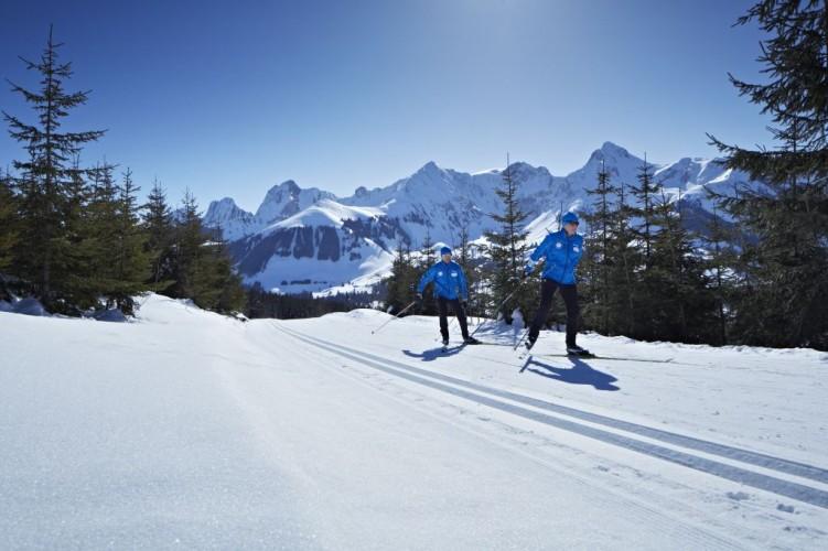 Langlaufzentrum Gantrisch - 45 Kilometer gespurte Loipen