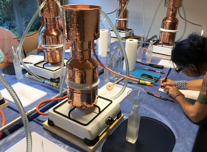 Duftessenzen selbst destillieren – Basiskurs 2