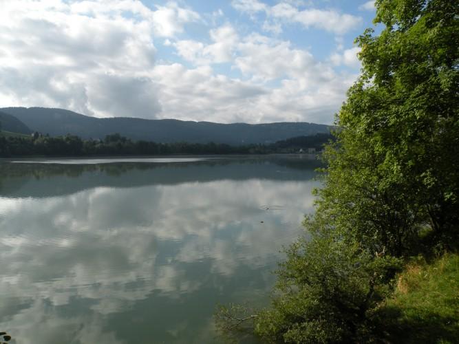 Sentier du Lac Brenet, Le Pont