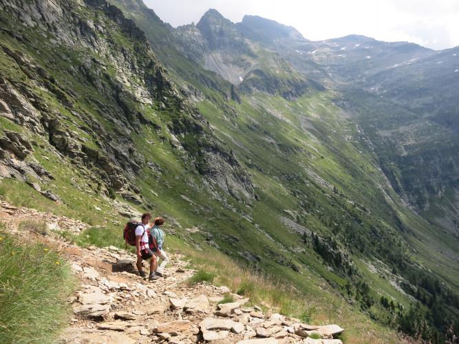 Sentiero Alpino Calanca - © Hansjürg Gredig