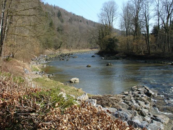 Sihlwald–Langenberg, Uferweg
