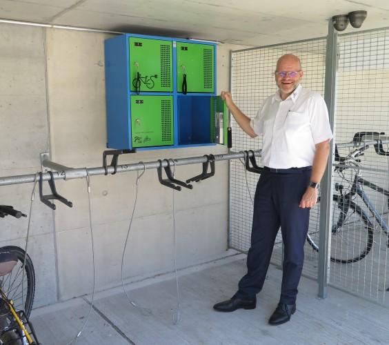 E-Bike Ladestation Bahnhof Balsthal