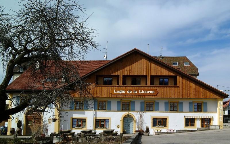 Hôtel du Logis de la Licorne
