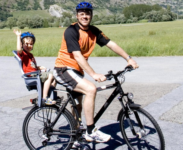 Pour les familles (en vélo)