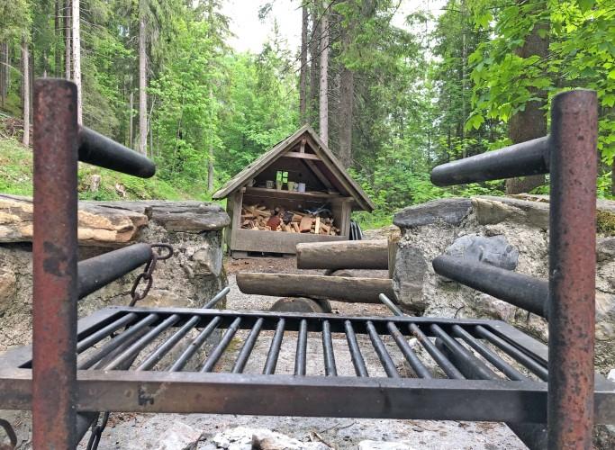 Feuerstelle Grabenweidli am Talwanderweg gelegen