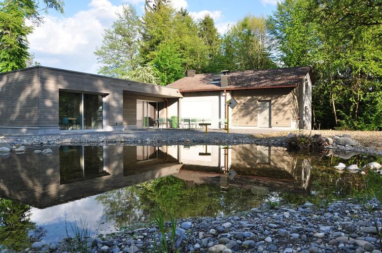 BirdLife-Naturzentrum Klingnauer Stausee