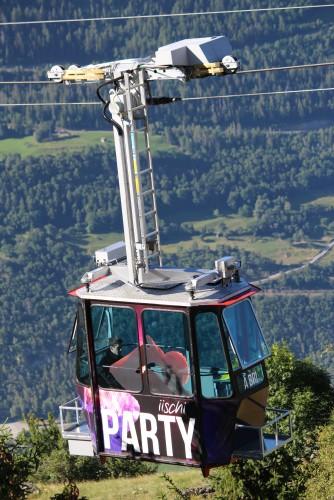 Téléphérique Gampel - Jeizinen
