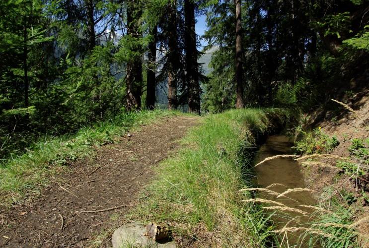 Wasserleitung Trusera