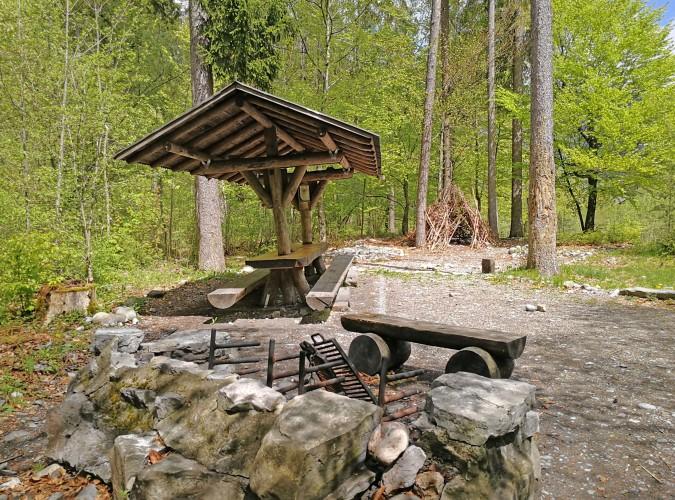 Feuerstelle Katzenloch am Talwanderweg