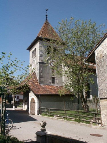 Die Kirche von Mollens