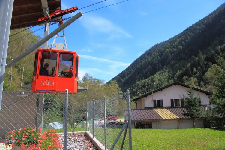 Téléphérique Zott - Alpe Salei