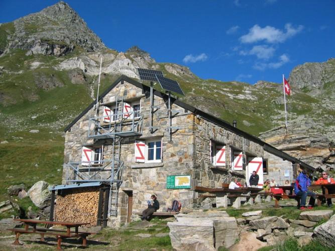 Einweihung der Binntalhütte
