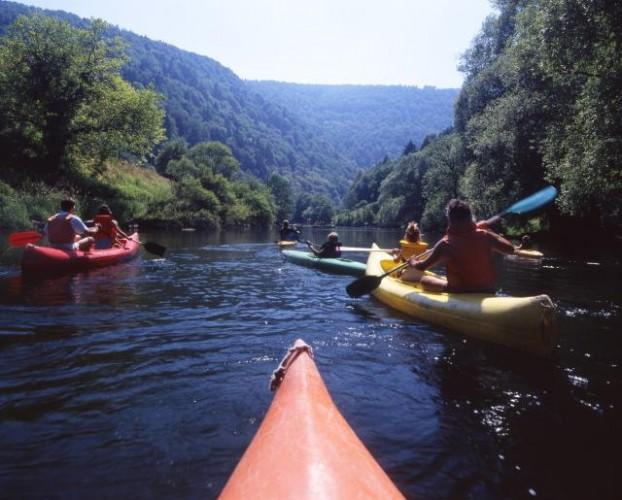 Canöé sur le Doubs