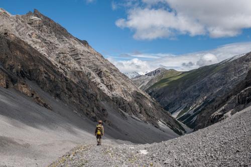 03 Fuorcla Val Sassa - TEILWEISE GEÖFFNET - © SNP/Hans Lozza