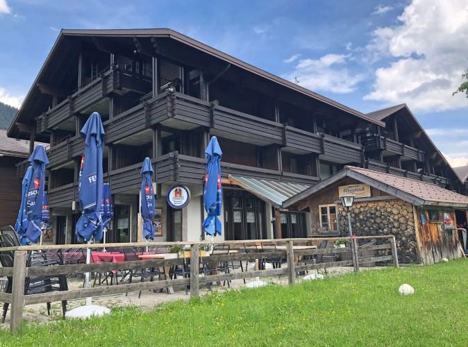 Restaurant Wirieblick mit Diorama Modellspielland32-Anlage