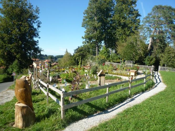 Jardin de plantes Oberbalm
