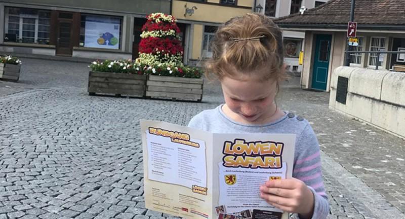 Auf Löwen-Safari in Laufenburg