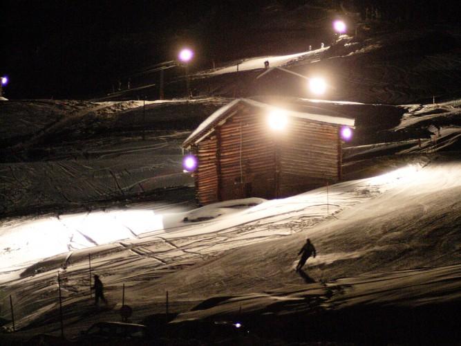 Nachtskifahren Solarskilift