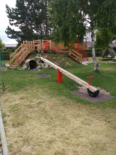 Kinderspielplatz Salgesch